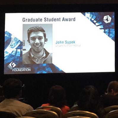 uconn grad student takes home gold national engineering conference