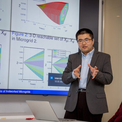 zhang students look advance power systems future