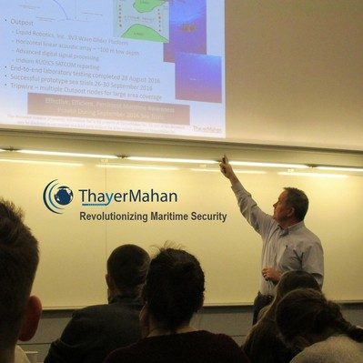new navy stem class hosts first distinguished speaker