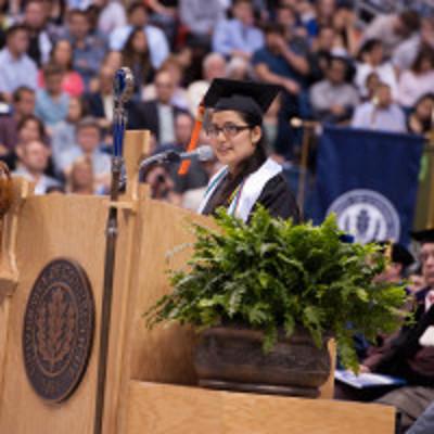 zoila estefani jurado quiroga delivers inspiring message to fellow engineering grads