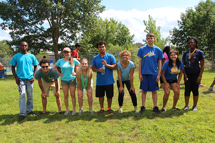 Students participate in the Summer Bridge Program.