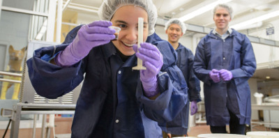 better and healthier ice cream through engineering