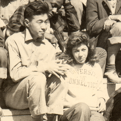 an engineering alumnus journey from an internment camp to uconn