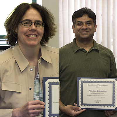 two uconn faculty members receive new award for supporting grad students