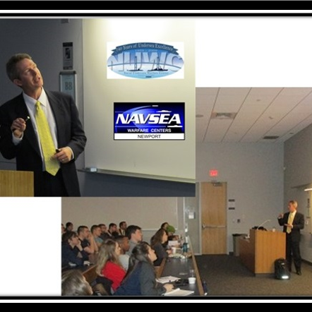 navy stem program hosts speaker dr robert koch