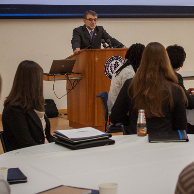 soe hosts student candidates from around the u s