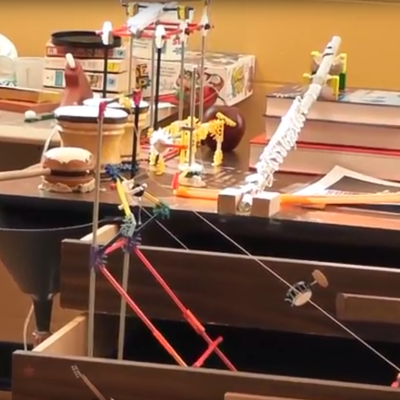 ellis tech takes top honors at rube goldberg contest with video
