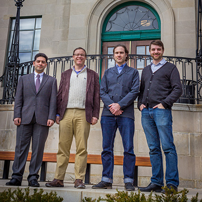 four engineering faculty receive early career awards
