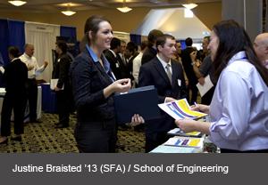 Spring Career Fair A Hit School Of Engineering News