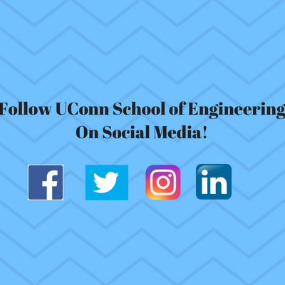 follow uconn school of engineering on social media