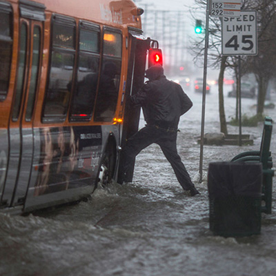 accounting for extreme rainfall
