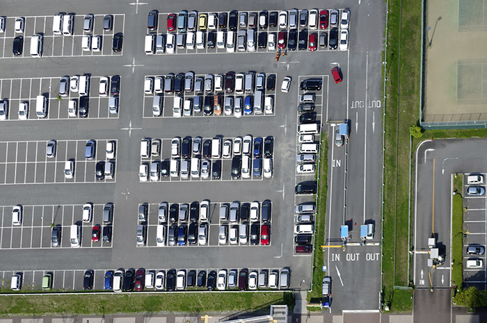 UConn Professors have found a link between increased parking and more traffic (iStock Photo).